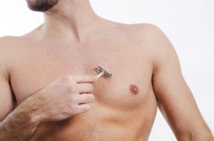 Brust rasieren